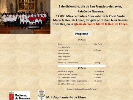 concierto da de Navarra Fitero 3 dic 2015