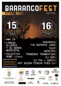 Cartel BarrancoFest  Night and Music