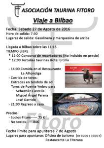 Viaje a Bilbao 2016