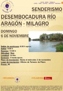 Senderismo río Aragón