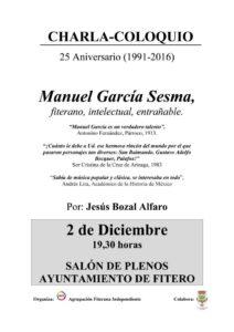 Charla de Jesús Bozal