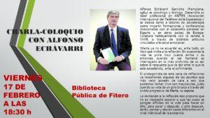 CHARLA-COLOQUIO CON ALFONSO ECHÁVARRI 1