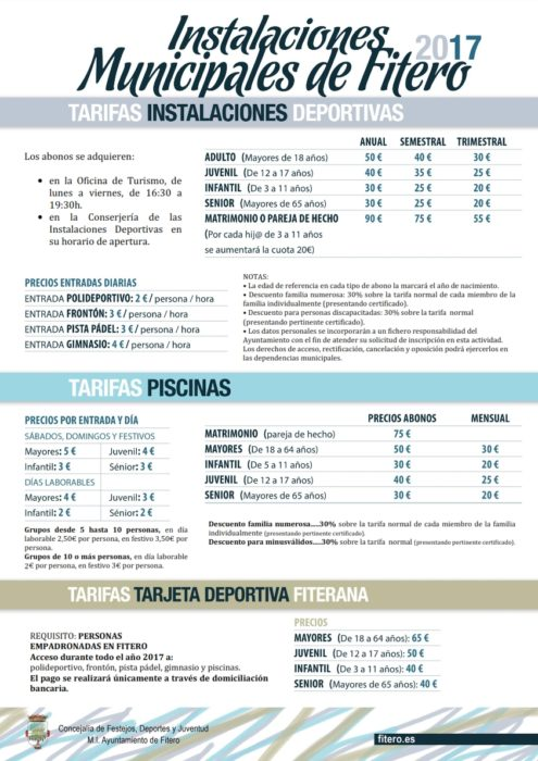 Cartel Tarifas 2017_001
