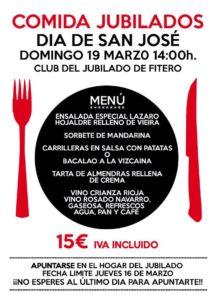 comida San José 2017