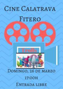 Cine infantil 26 marzo