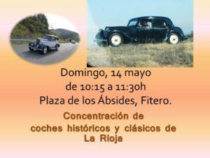 concentración coches históricos y clásicos