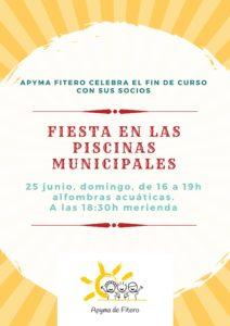 Fiesta en las piscinas municipales (2)