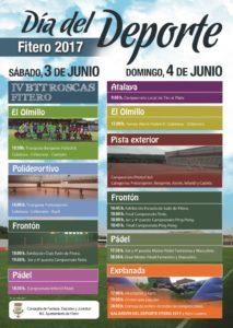 cartel V Día del Deporte 3 y 4 junio 2017 web