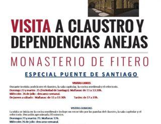 Visita Claustro y dependencias anejas puente de Santiago